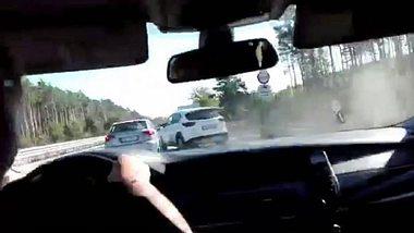 Verfolgungsjagd auf der A12 - Foto: Bundespolizei