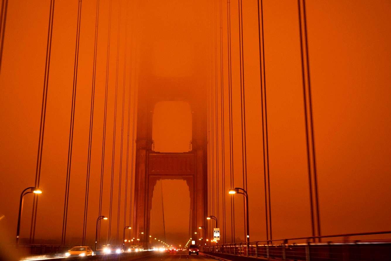 Verkehr auf der Golden Gate Bridge