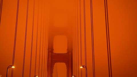 Verkehr auf der Golden Gate Bridge - Foto: Getty Images / Harold Postic