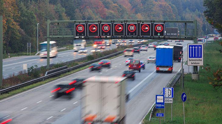 Auf deutschen Autobahnen
