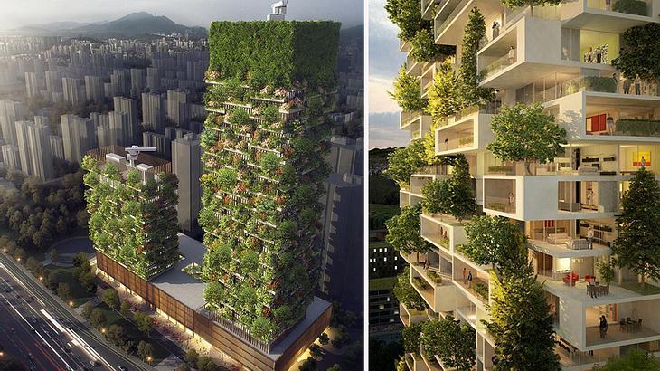 Architekt Stefano Boeri bringt grüne Architektur nach China