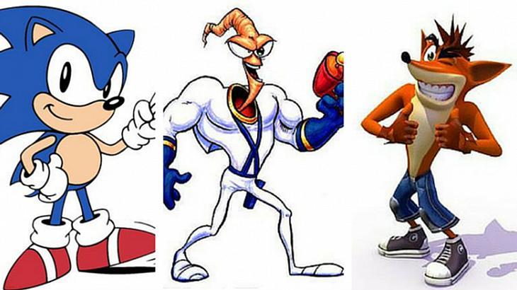Wie viele dieser Videospiel-Charaktere aus den 1990ern kennst du?