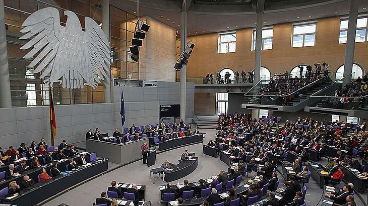 Vielflieger im Bundestag (Symbolfoto)