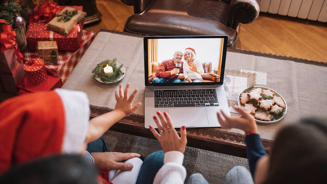 Virtuelles Weihnachten