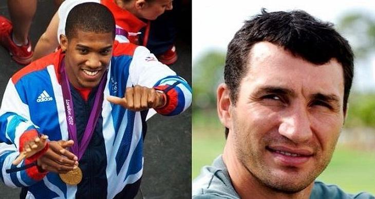 Trifft Wladimir Klitschko auf Anthony Joshua?