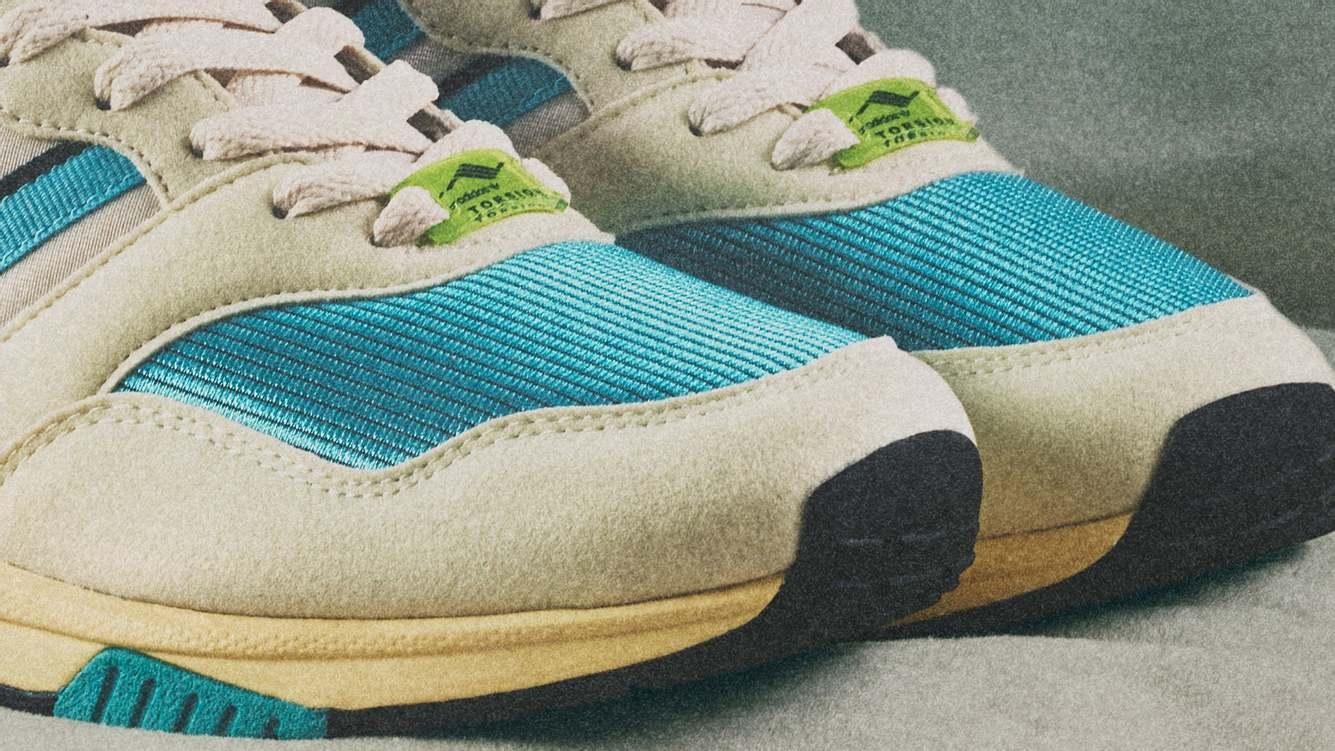 adidas-Schuhe im Anschnitt