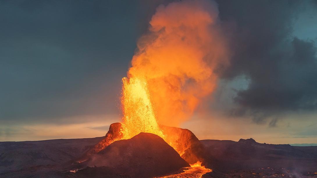 Vulkanausbruch - Foto: iStock / Portra