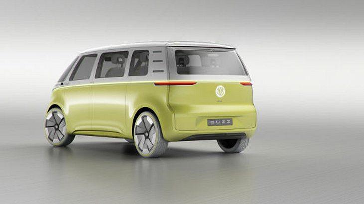 Mit dem VW I.D. Buzz präsentiert Volkswagen die neue Generation seines weltberühmten VW-Bullis