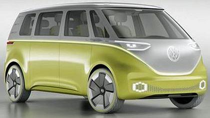 Mit dem VW I.D. Buzz präsentiert Volkswagen die neue Generation seines weltberühmten VW-Bullis - Foto:  volkswagen