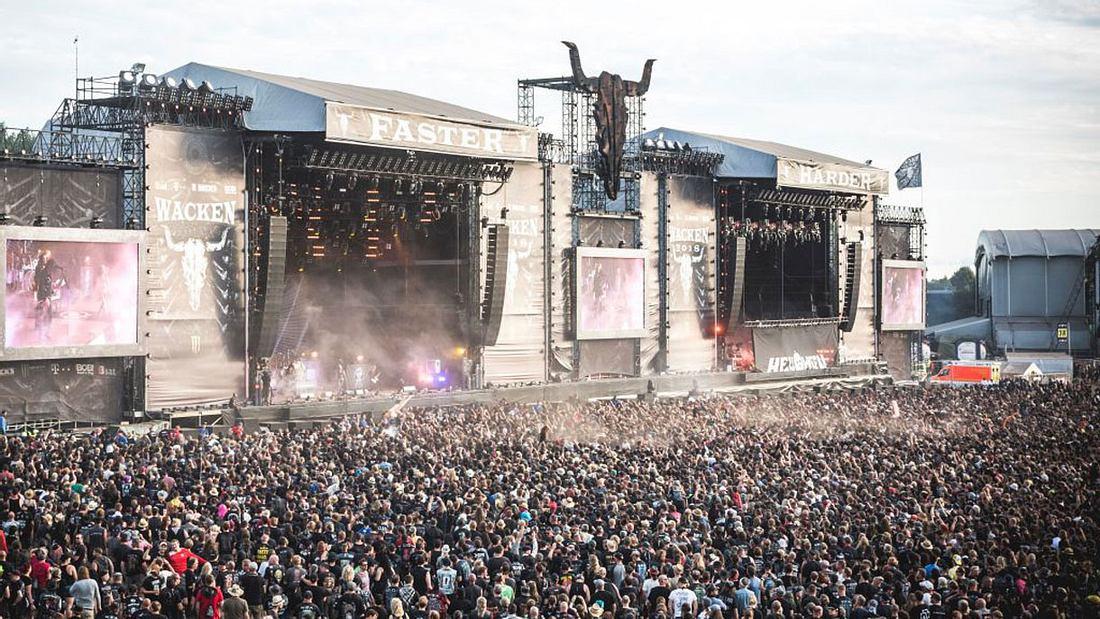 Wacken zählt zu den größten Metal-Festivals weltweit.