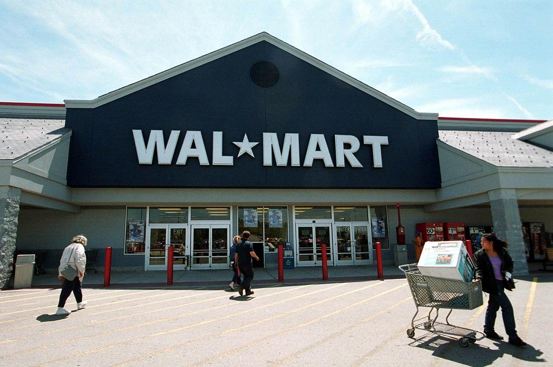 Wal Mart Supermarkt