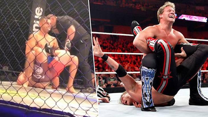 Walls of Jericho: Ein MMA-Fighter zwingt seinen Gegner zur Aufgabe