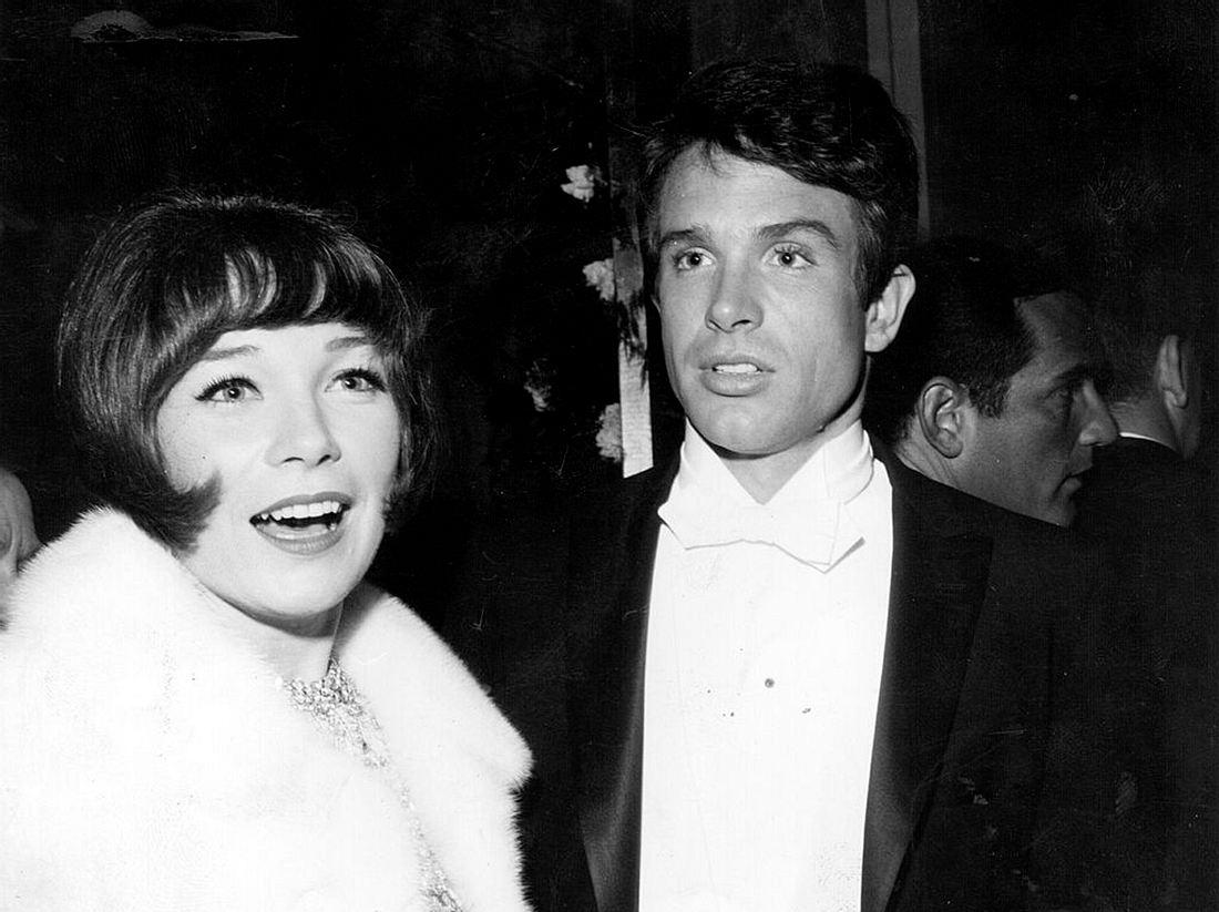 Warren Beatty Shirley MacLaine Oscars 1966