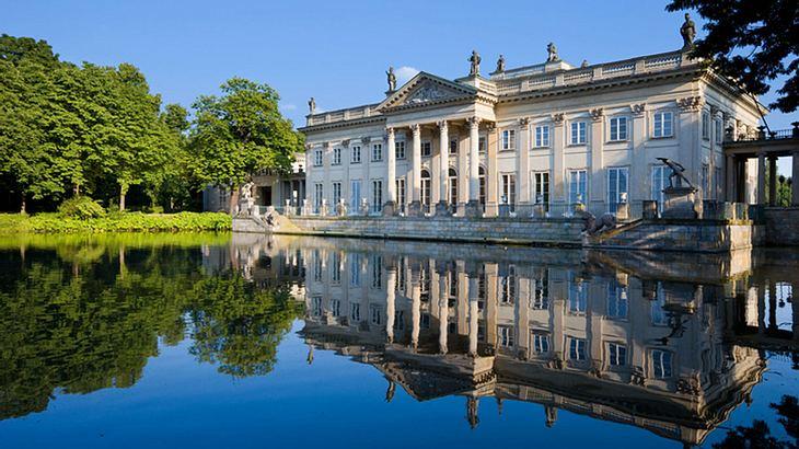 Łazienki Palast im Łazienki Park in Warschau