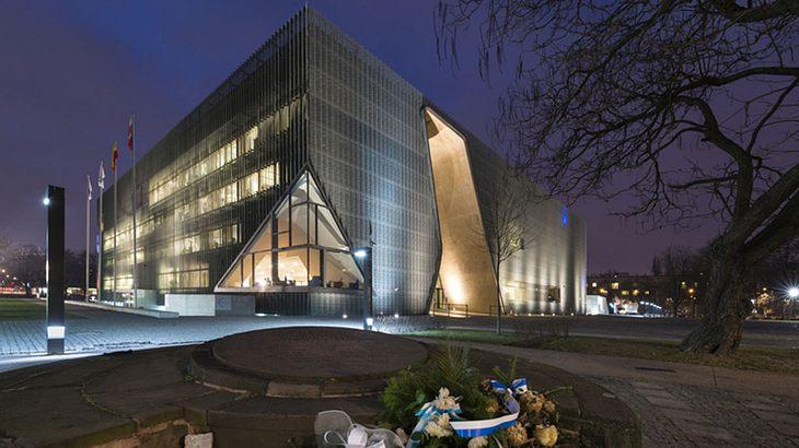 Das Museum der Geschichte der Juden in Warschau