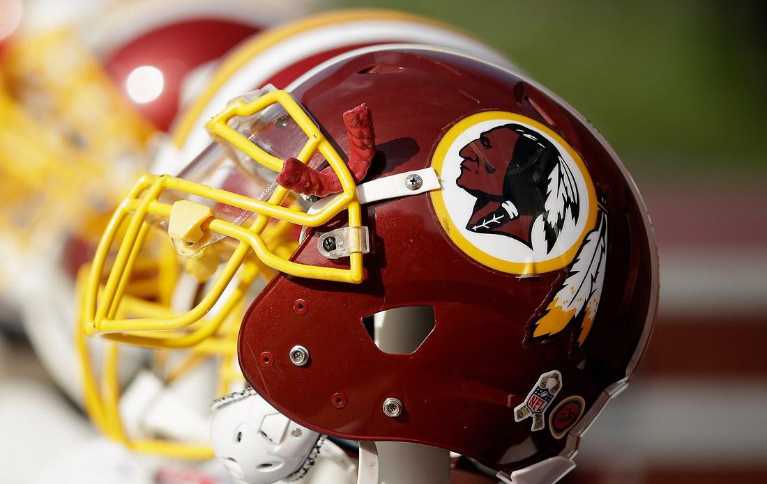 Helm der Washington Redskins
