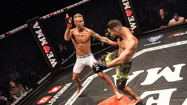 We Love MMA baut sein Oktagon in Stuttgart auf