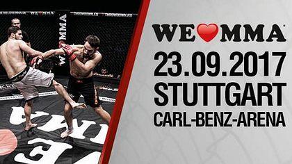 Das ist die Fightcard von We Love MMA 32 in Stuttgart