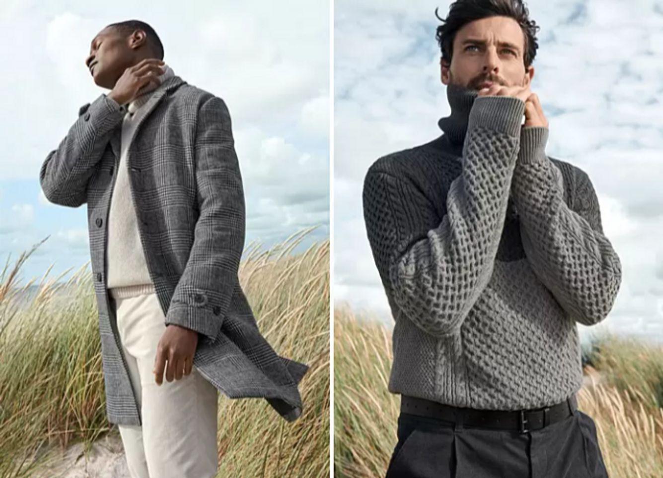 Stücke der Knitwear-Kollektion von C&A