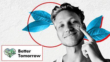 Mann pflegt sich mit Gesichtscreme - Foto: iStock/Natalia Samorodskaia/PeopleImages