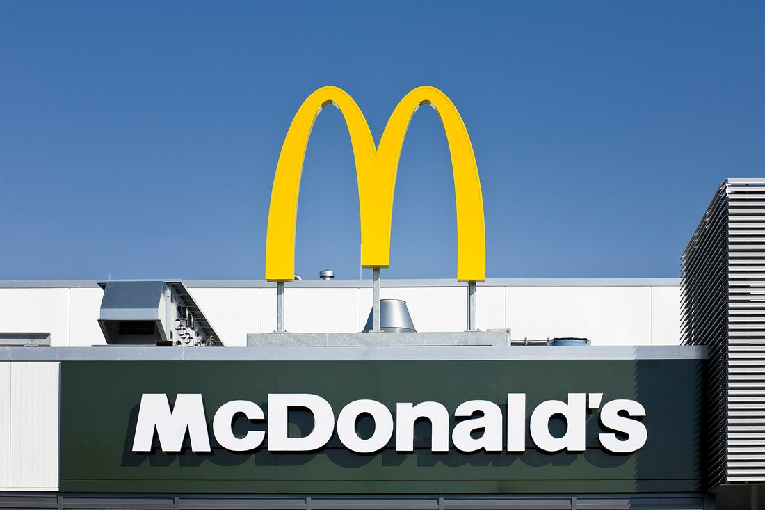 McDonald's-Schild