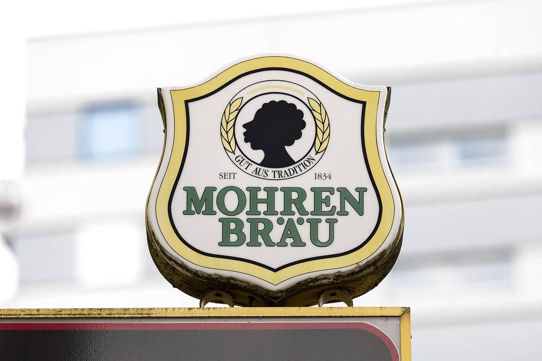 Logo der Brauerei Mohrenbräu