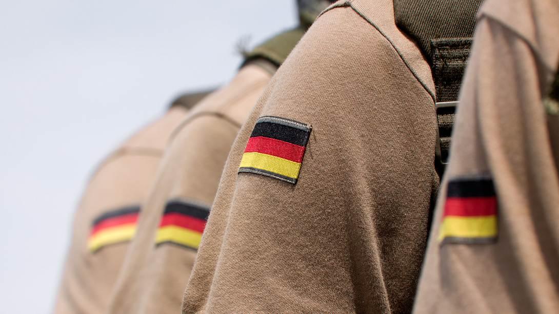 Ärmelabzeichen von Bundeswehr-Soldaten  - Foto: iStock/Dragunov1981