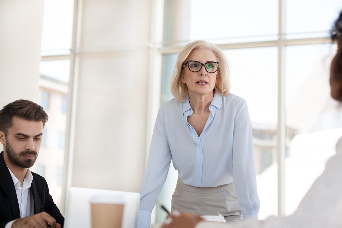 Weibliche Chefs sind nach wie vor selten