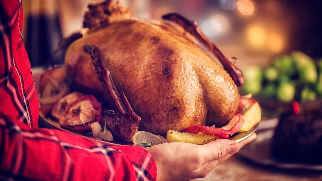 Eine traditionelle Weihnachtsgans - Foto: iStock/GMVozd