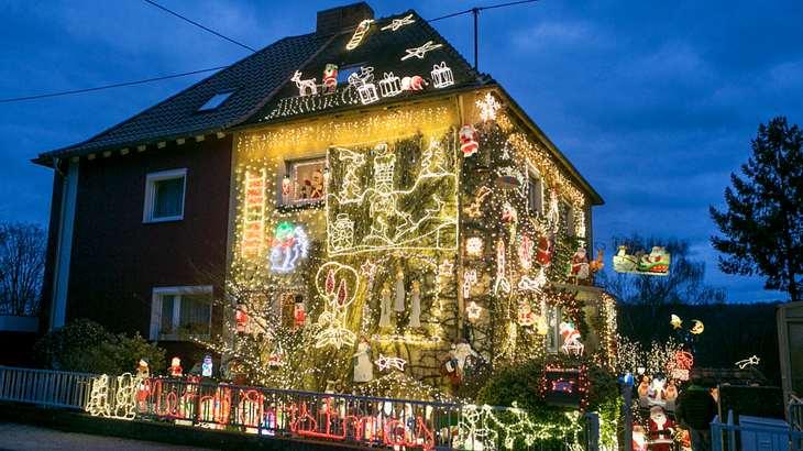hellste teuerste weihnachts beleuchtung der welt