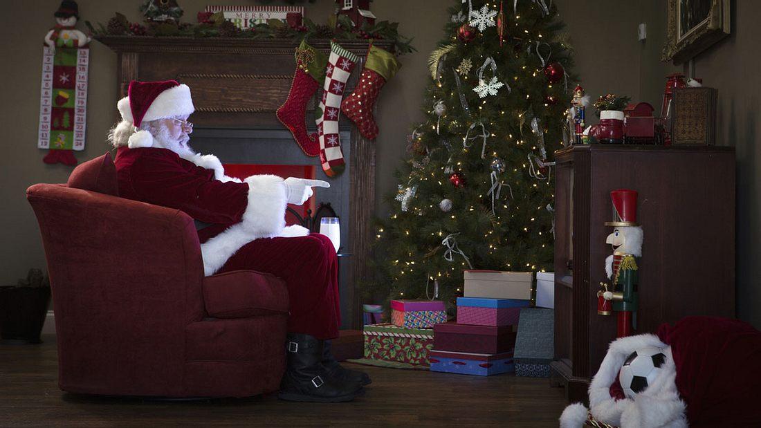 Auch der Weihnachtsmann schaut Netflix