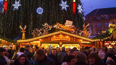 Der Dortmunder Weihnachtsmarkt - Foto: iStock / justhavealook