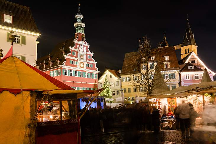 Weihnachtsmarkt in Stuttgart-Esslingen