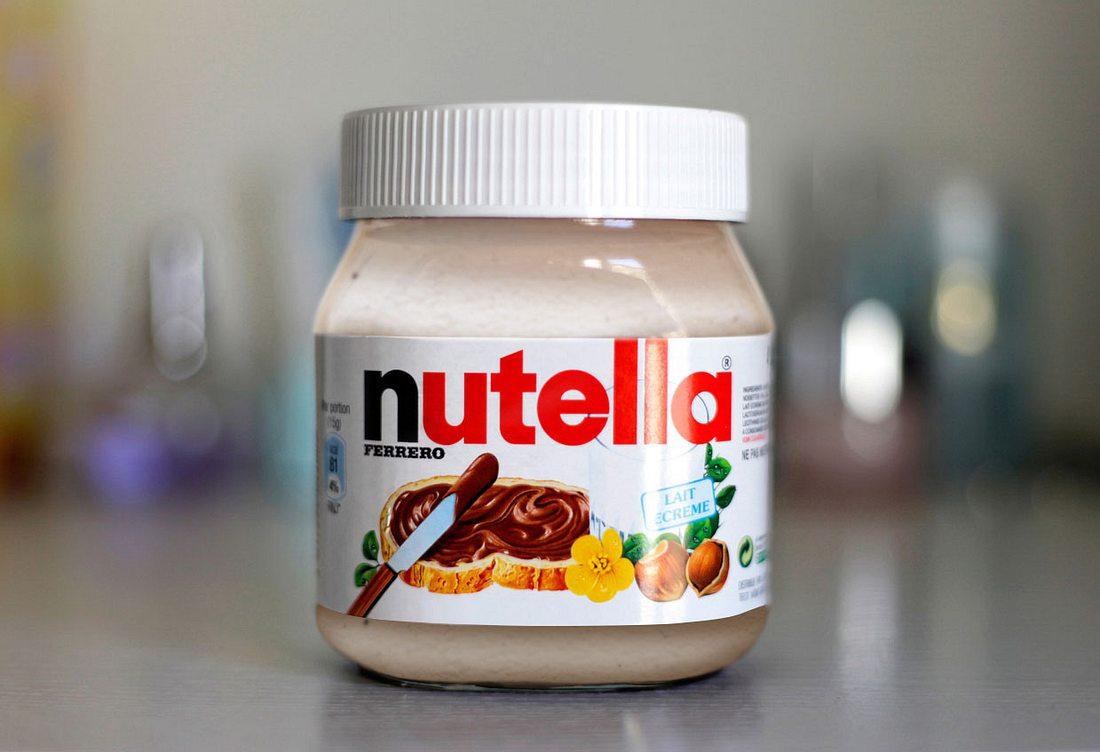 Weiße Nutella