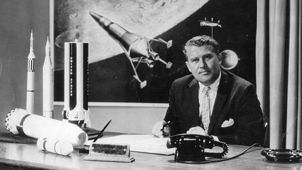 Wernher von Braun baute für die Nazis die V2-Rakete - Foto: Getty Images / Evening Standard
