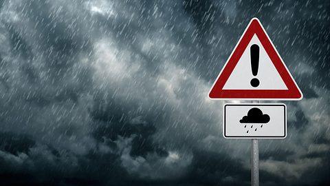 Unwetter-Warnung: Jetzt beendet Terror-Tief Elena den Sommer