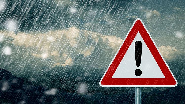 Zum Herbstanfang: Gewitter! Neuschnee! Überschwemmungen!