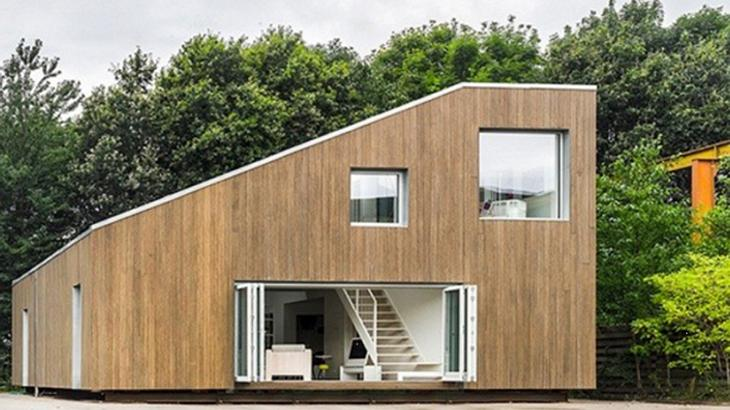 Upcycling: Das WFH House besteht aus Containern