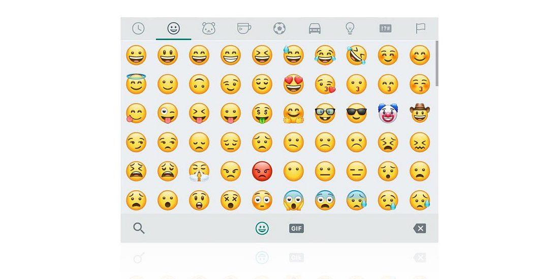 Die neuen Emojis von WhatsApp