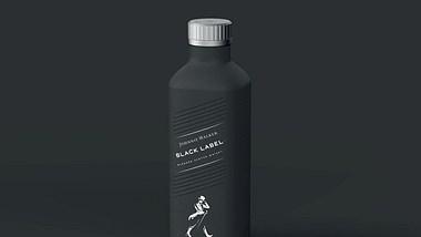 Johnnie Walker bald in neuer Flasche aus Papier