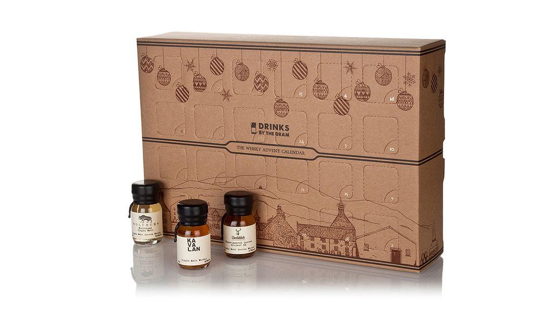 Weihnachten für Männer: Der Whisky-Adventskalender