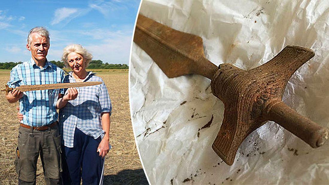 Immer noch scharf: 3.000 Jahre altes Wikingerschwert in Dänemark entdeckt