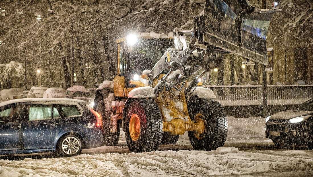 Winterchaos auf den Straßen