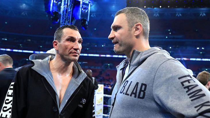 Wladimir (links) und Vitali Klitschko