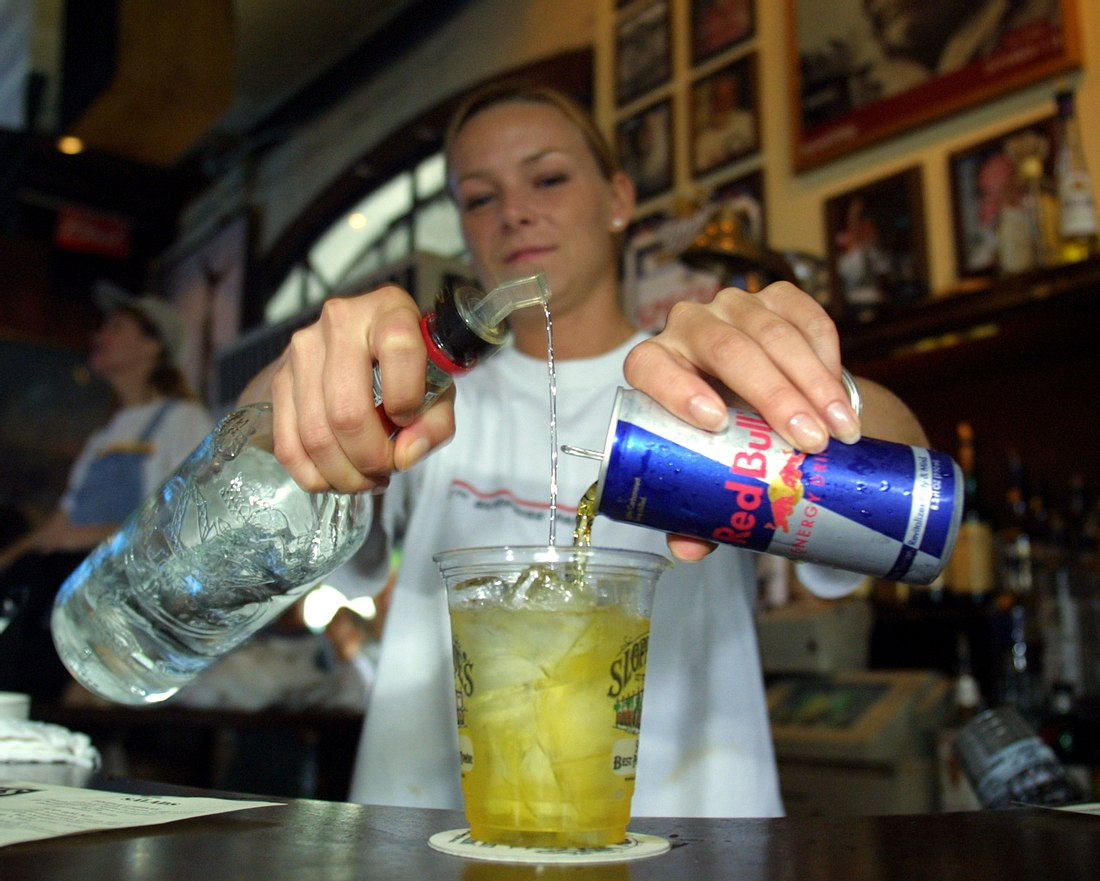 Wodka-Red-Bull-Mix