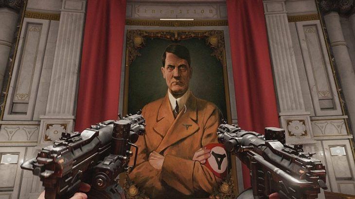 """Szene aus """"Wolfenstein II: The New Colossus"""""""