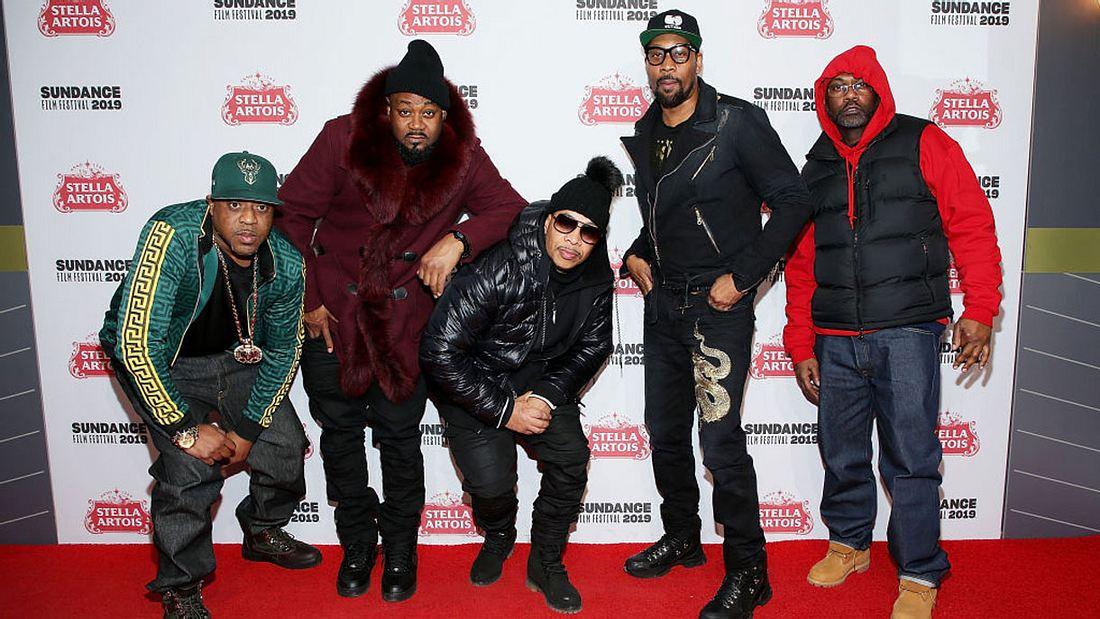 Cappadonna, Ghostface Killah, U-God, Rza, and Masta Killa vom Wu-Tang Clan