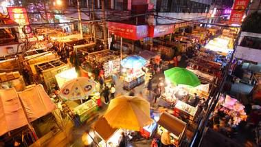 Nachtmarkt in Wuhan - Foto: iStock / xenotar
