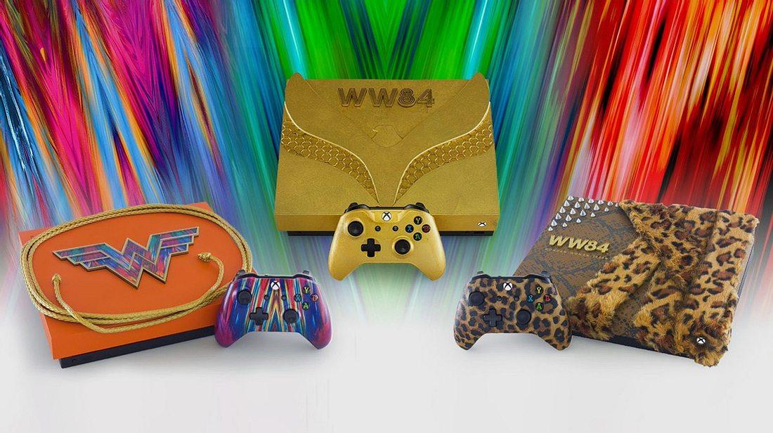 Xbox One im Wonder Woman-Design