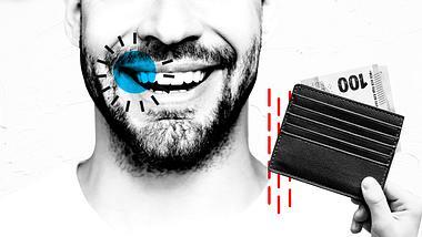 Zähne bleichen - Foto: iStock /serebryannikov; Deagreez